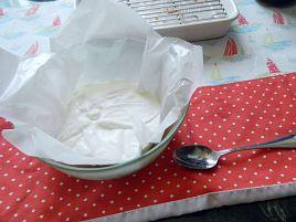 ソフトクリームに似た食感。フォンテーヌブローツンデレ風味