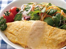健康のためサラダはノンオイルより卵と4gのキャノーラ油で
