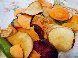 麻布十番・野菜菓子の野菜チップスでサラダの満足度を↑↑