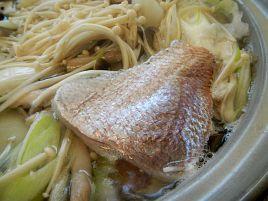天然紅葉鯛のお鍋が美味しすぎて釣り人冥利に尽きたよ!