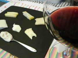 尺ハギ釣ったお祝いに超熟山羊チーズとスーパートスカーノ