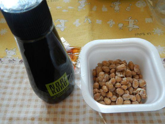 海苔の風味と柚子の香り「のりクロ」ちょい足し納豆が激旨