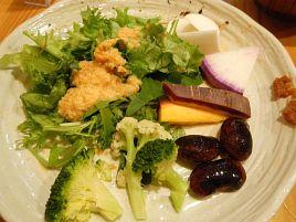 年末帳尻合わせ2:中目黒・はな豆で超美味野菜食べ放題