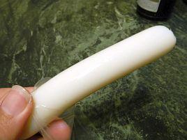 最近お気に入りのおつまみ「クリーミーチーかま」に塩マヨ